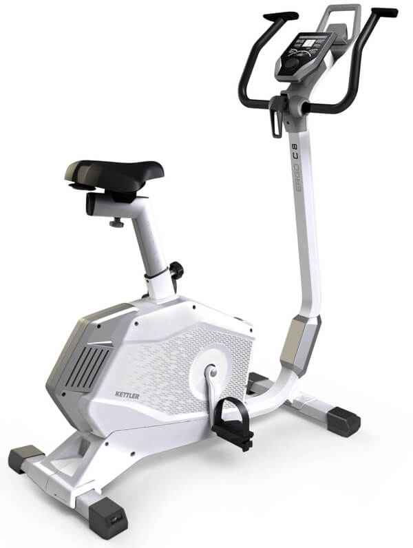 Kettler-Ergo-C8 motionscykel med let indstigning