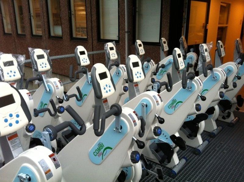 Mange motionscykler til kørestol