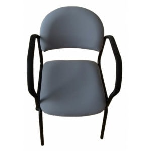 Swivel and slide chair for disabled