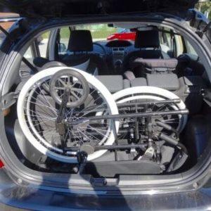 Transportkørestol let