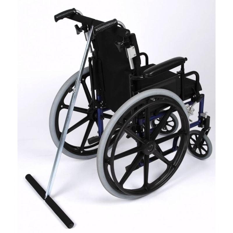 kipsikring til kørestol antitip når der motionscykles