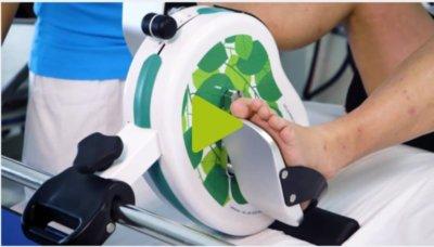 pedalier pour dialyse pour lit