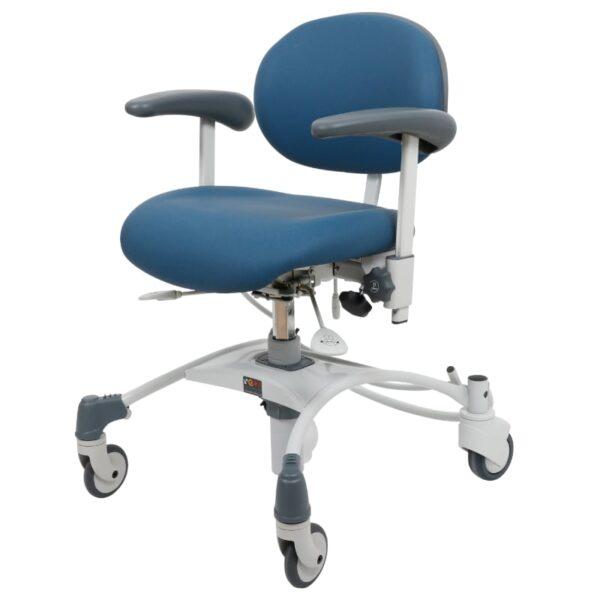 VELA stol Medium træningsstol med bremse afspritbar-for-venstre