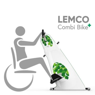 Motionscykel til kørestol